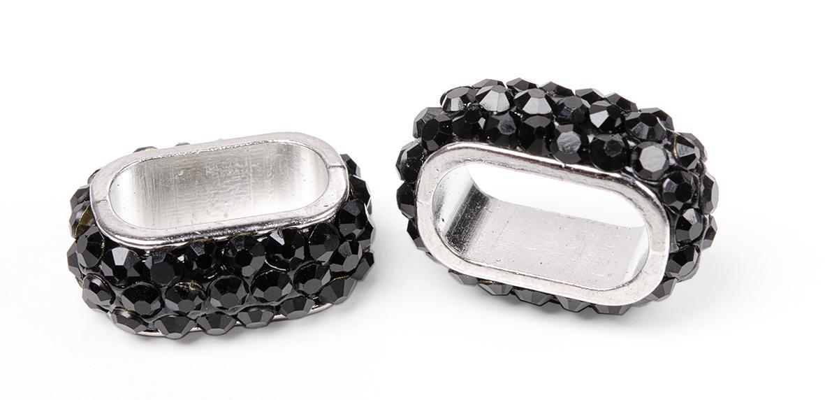 perle en strass gros trou ovale 2 pc loisirs cr atifs vbs hobby. Black Bedroom Furniture Sets. Home Design Ideas