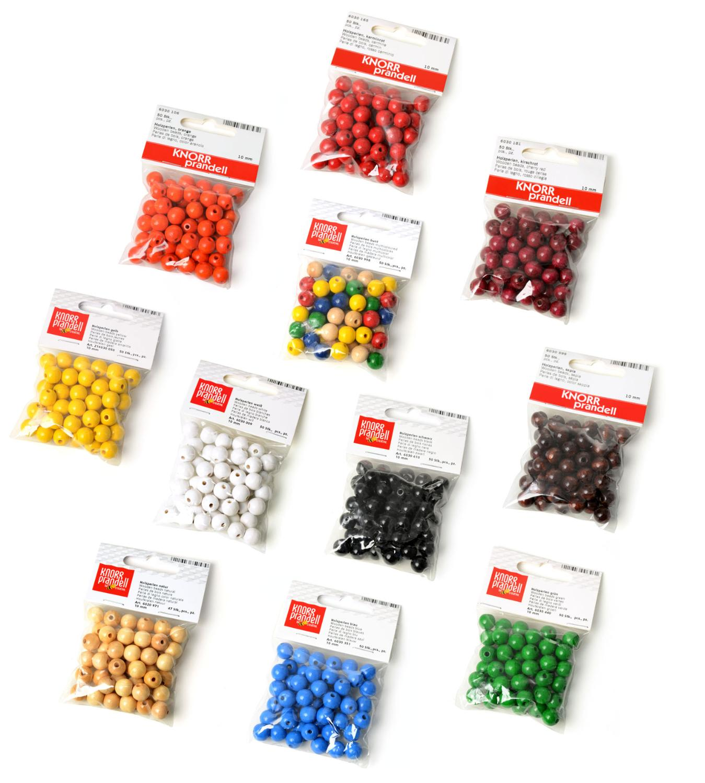 perles en bois 10 mm loisirs cr atifs vbs hobby. Black Bedroom Furniture Sets. Home Design Ideas
