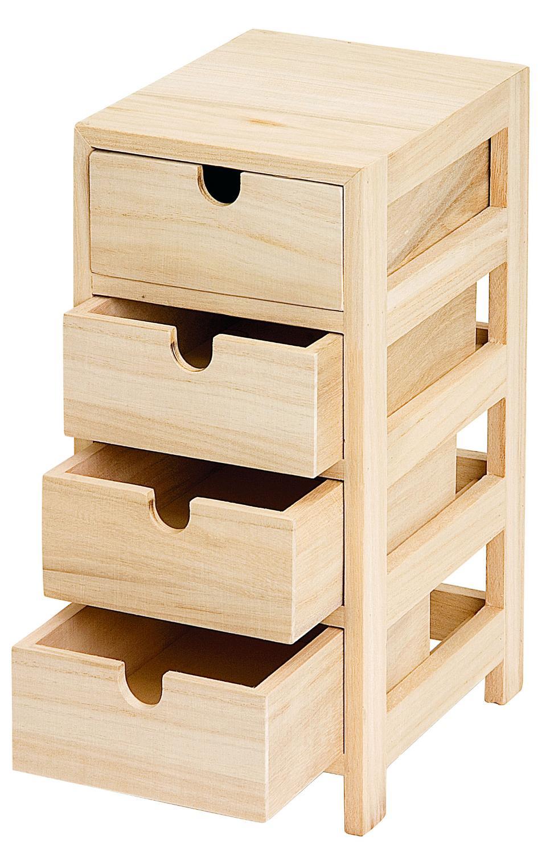 tour vbs avec 4 tiroirs loisirs cr atifs vbs hobby. Black Bedroom Furniture Sets. Home Design Ideas