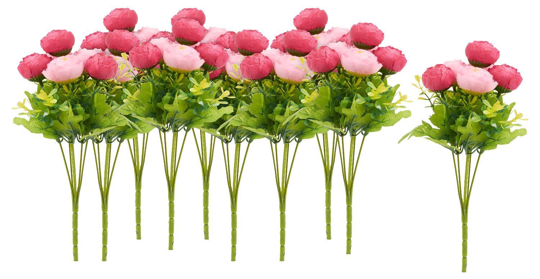 10 bouquets de renoncules gros acheteurs vbs rose loisirs cr atifs vbs hobby. Black Bedroom Furniture Sets. Home Design Ideas