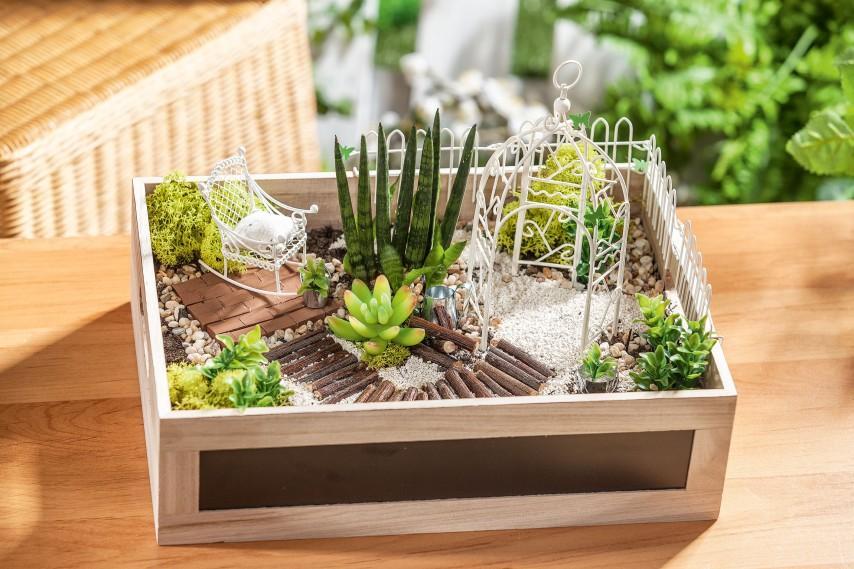 Jardin miniature | Loisirs créatifs VBS Hobby
