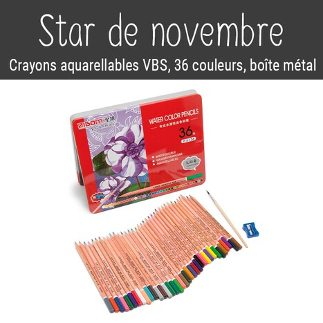 Monatshit November: VBS Aquarellstifte