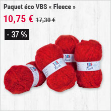 Paquet éco VBS « Fleece »