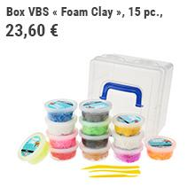 Box VBS « Foam Clay »