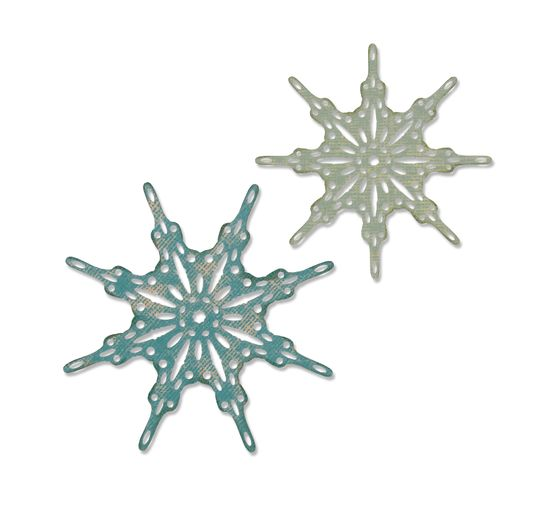 Gabarit d'estampe Sizzix Thinlits « Fanciful Snowflakes by Tim Holtz »