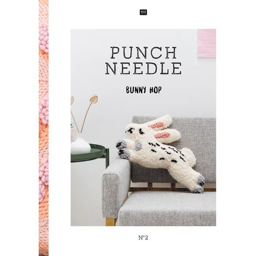 Livre Rico Design « Punch Needle No. 2 Bunny Hop »