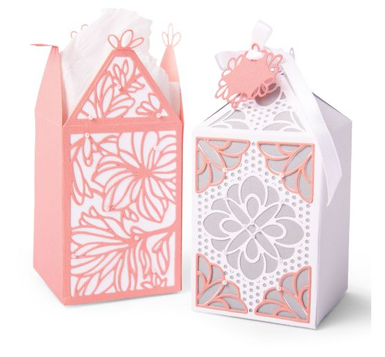 Gabarit d'estampe Sizzix Thinlits « Elegant Favor Box »