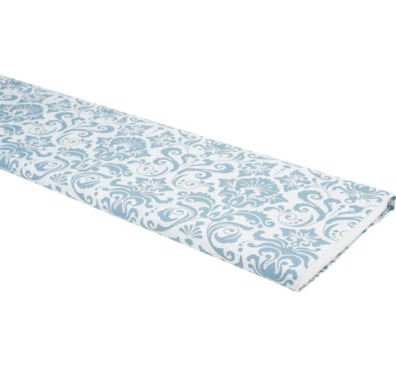 Tissu coton au mètre « Light Breeze », Ornement Bleu