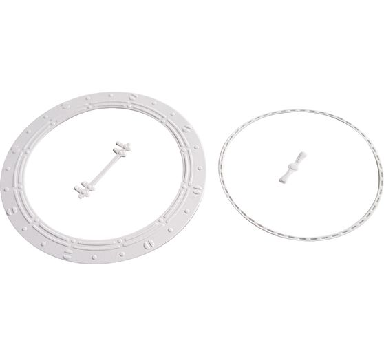 Gabarit d'estampe et d'embossage « Hublot »