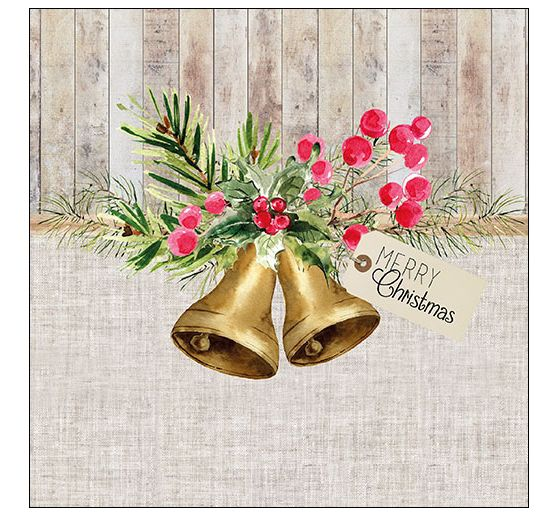 Serviette « Christmas Bells »