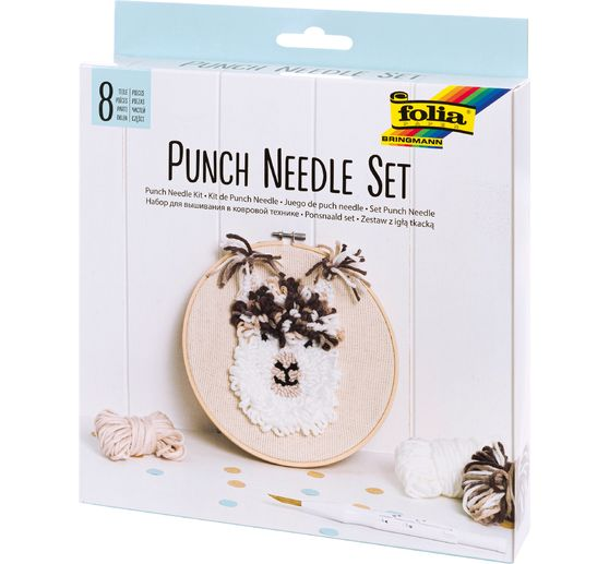 Kit Punch Needle « Alpaga »