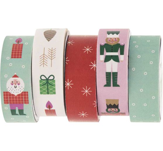 Set de masking tapes « Xmas in the air »
