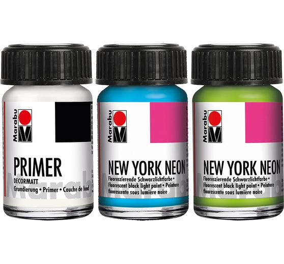 Set Marabu NEW YORK NEON « PARK AVENUE »