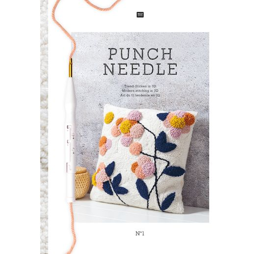 Livre Rico « Punch Needle »