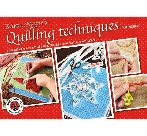 Livret Techniques De Quilling Karen Marie