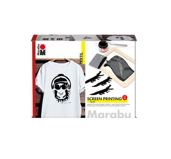 Set Textil Screen Printing Marabu