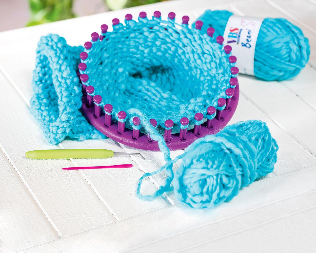 usine authentique styles frais divers styles Anneaux à tricoter VBS, set de 4