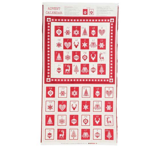 Calendrier De Lavent Cm.Coupon De Tissu Scandi Xmas Pour Calendrier De L Avent 115 X 60 Cm