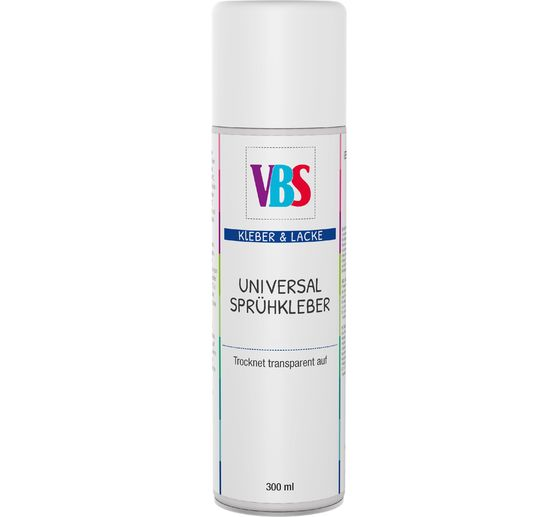 VBS Colle en spray transparente, 300 ml