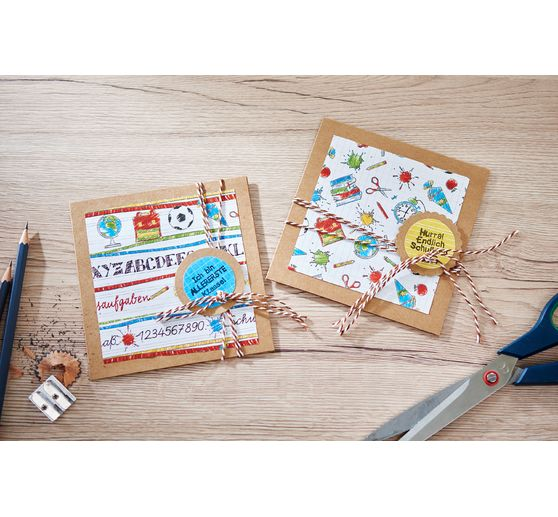 Méga-set VBS « Cartes vintage » 50 pc.
