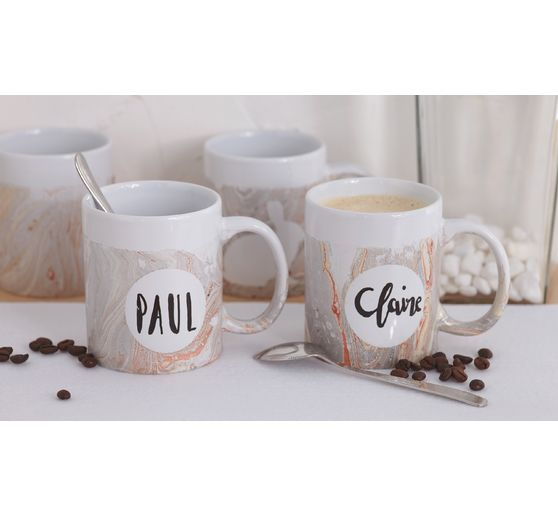 VBS Mugs à café, set de 2