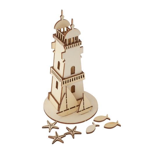 Kit de construction en bois « Phare », 25 pc.