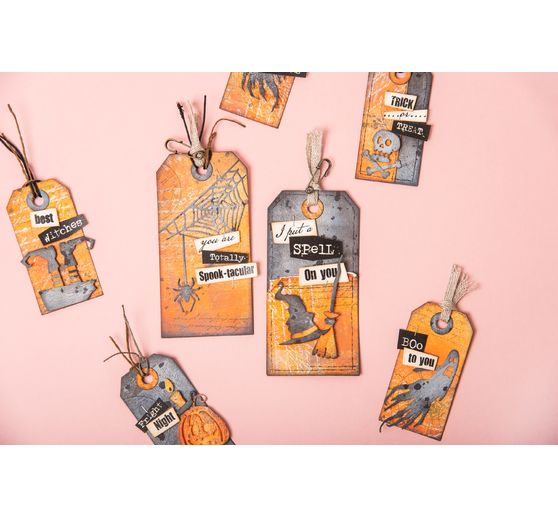 Gabarit d'estampe Sizzix Thinlits « Frightful Things by Tim Holtz »