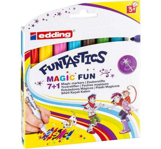edding 13, Funtastic magic fun, 3 mm, 8 pc.