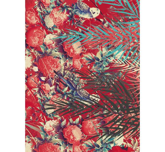 Papier Décopatch « Tropic Red », 3 pc.