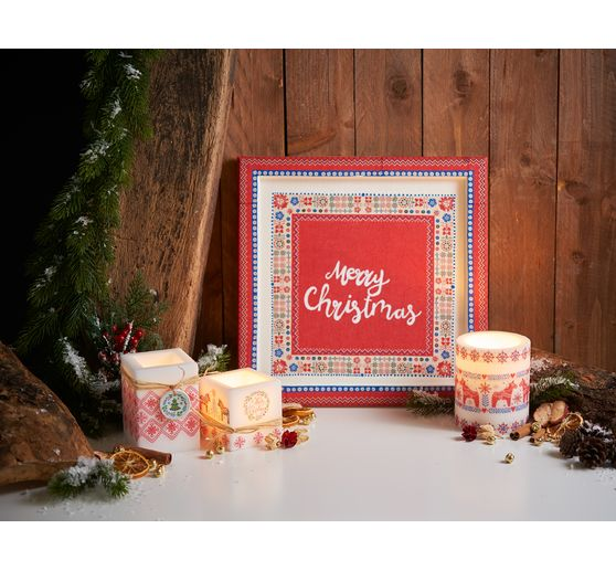 Set de serviettes VBS « Scandinavian X-Mas », 20 pc.