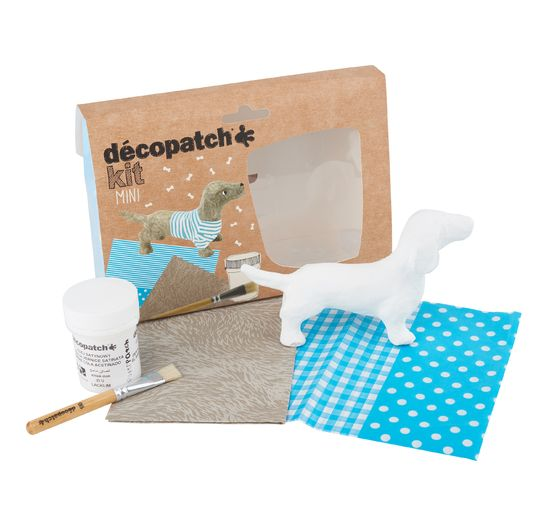 Mini-kit Décopatch « Teckel »