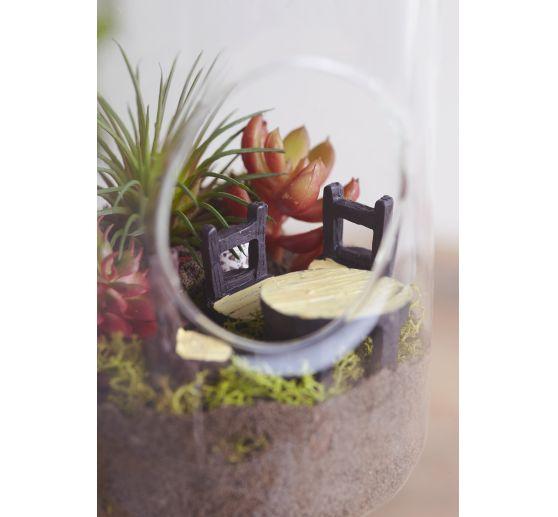 Salon de jardin déco VBS, set de 5 | Loisirs créatifs VBS Hobby