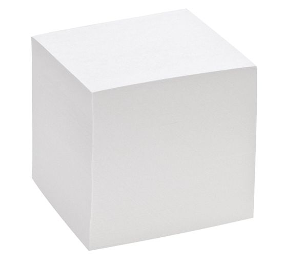 Bloc-notes cube, 9 x 9 x 9 cm